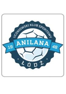 Naklejka na auto z logo UKS Anilana Łódź 33543
