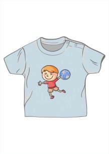 chłopiec z piłką 5198