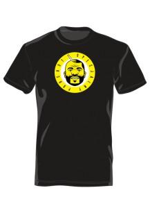 Koszulka Męska przód/tył czarna 61075