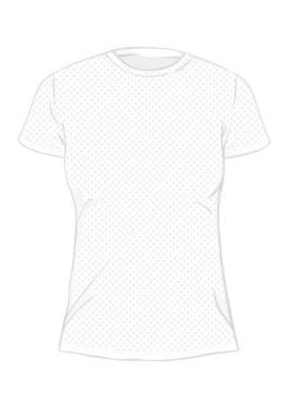 koszulka sportowa damska z nadrukiem TYŁ 6620