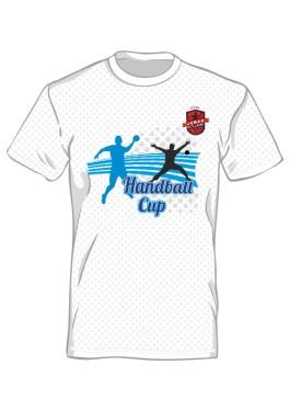 Koszulka sportowa męska nadruk PRZÓD 7324
