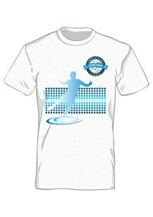 Koszulka sportowa męska nadruk PRZÓD 7354